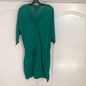 Emerald green BGBC dress